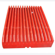 Mining Spare Parts High Manganese Steel Jaw Crusher Plates